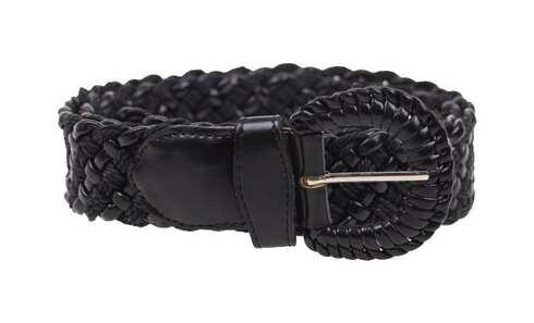 obrázek Kožený pásek černý var.18