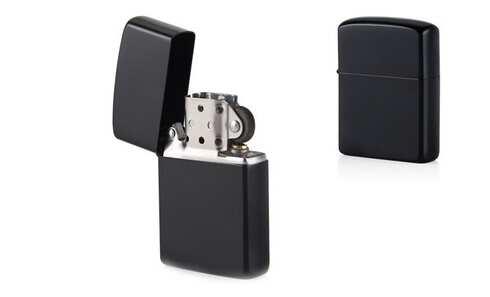 obrázek Benzínový zapalovač černý