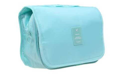 obrázek Kosmetická taška závěsná mintová