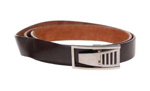 obrázek Kožený pásek hnědý var.18
