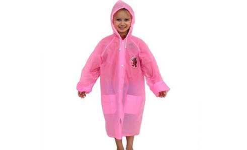 obrázek Dětská pláštěnka růžová