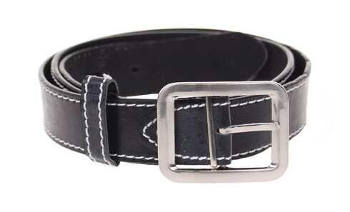 obrázek Kožený pásek černý var.31