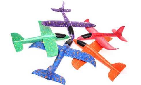 obrázok Penové hádzací lietadlo mini
