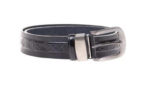 obrázek Kožený pásek černý var.33