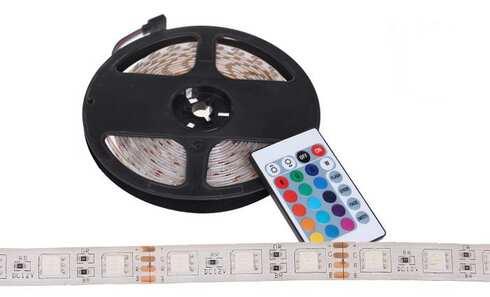 obrázek LED pásek s ovladačem 5 metrů – BÍLÁ