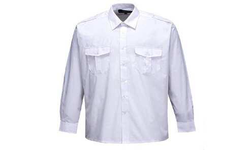 obrázek BRUDRA košile dl.rukáv bílá