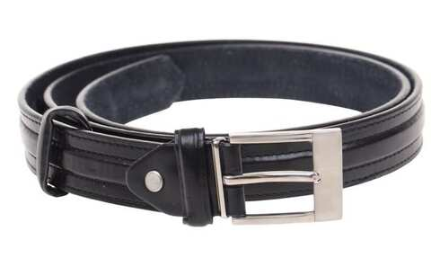 obrázok Kožený opasok čierny var.45