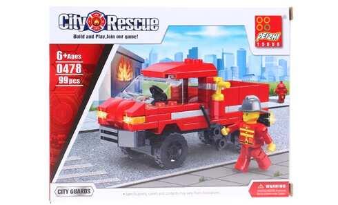 obrázok Detská stavebnica hasiči