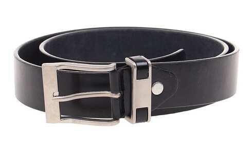 obrázek Kožený pásek černý var.66