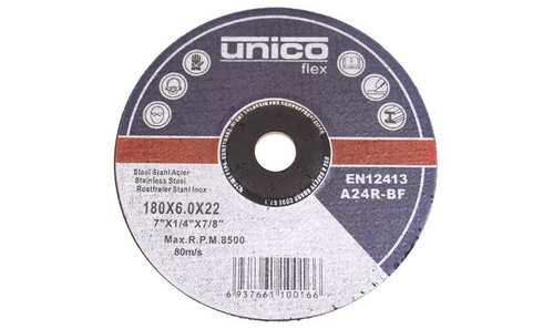 obrázek Brusný kotouč Unico Flex 180x6.0x22 - 1ks