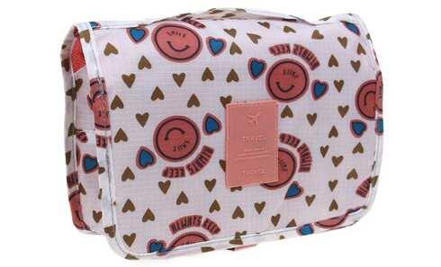 obrázek Kosmetická taška závěsná se srdíčky