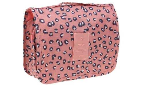 obrázek Kosmetická taška závěsná leopardí