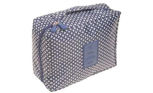 obrázek Kosmetická taška Travel modrozelená