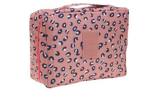 obrázek Kosmetická taška Travel leopardí
