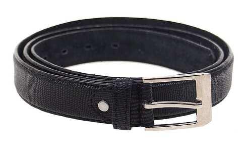 obrázek Kožený pásek černý var.68