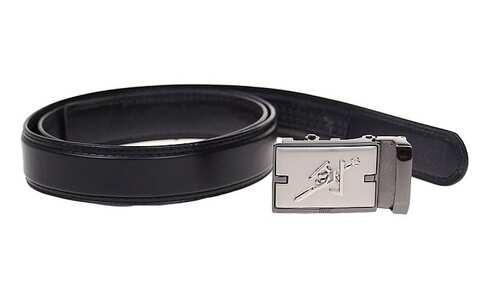 obrázek Kožený pásek černý var.70