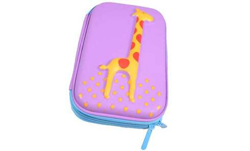 obrázek Penál 1patrový žirafa falová