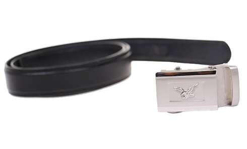 obrázek Kožený pásek černý var.82