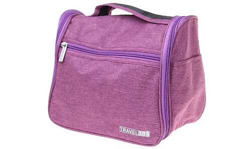 obrázek Kosmetická taška Travel Bag fialová