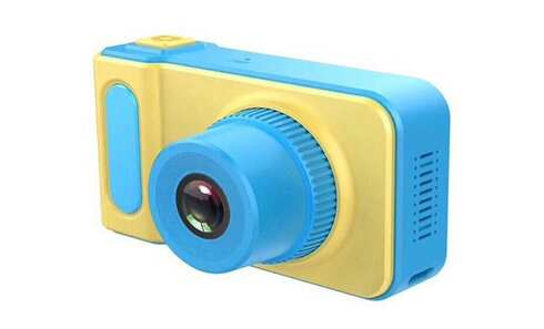 obrázek Dětský digitální mini fotoaparát s kamerou modrý