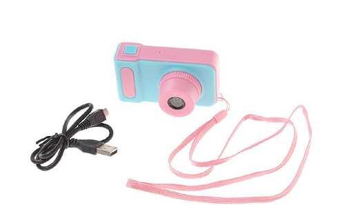 obrázok Detský digitálny mini fotoaparát s kamerou ružový
