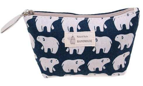 obrázek Kosmetická taška Handmade lední medvědi