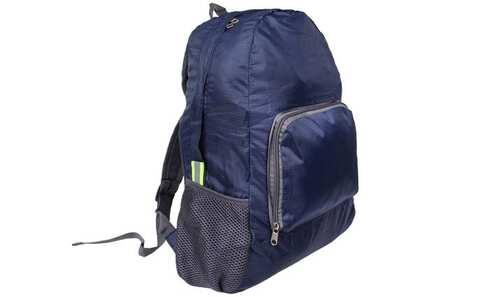 obrázek Skládací cestovní batoh modrý