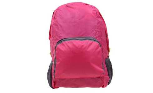 obrázek Skládací cestovní batoh růžový