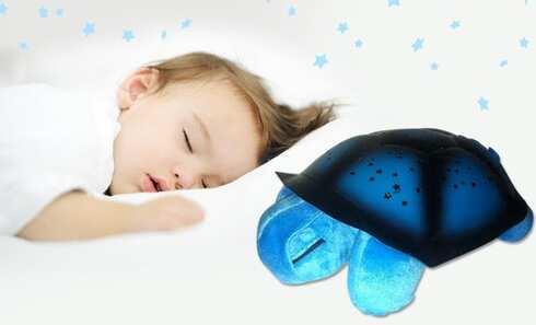obrázek Magická svítící želva modrá