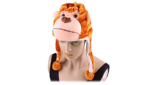 obrázek Zvířecí čepice opice
