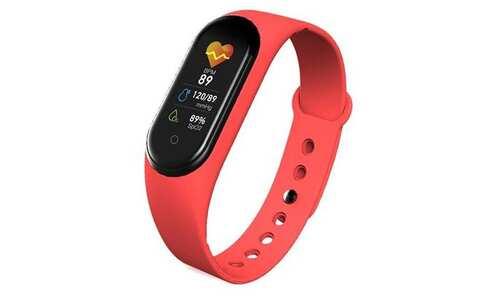 obrázok Smart náramok M5 červený