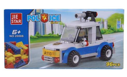obrázok Detská stavebnica polícia mini