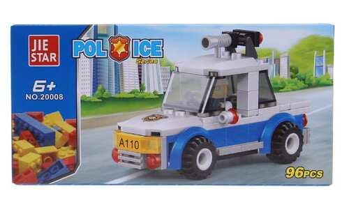 obrázek Dětská stavebnice policie mini