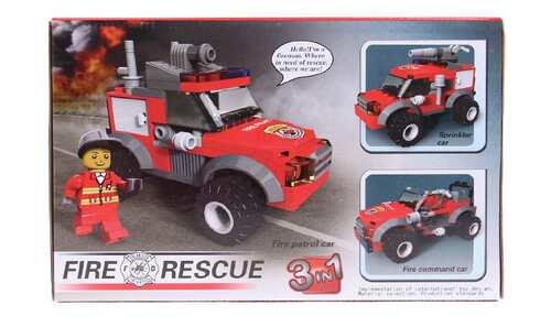 obrázek Dětská stavebnice hasiči 3v1