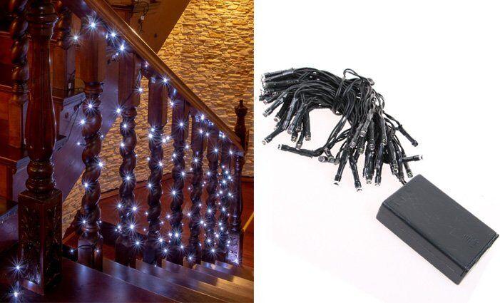 LED světelný řetěz bílý 50LED