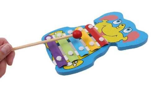 obrázek Dřevěný xylofon slon