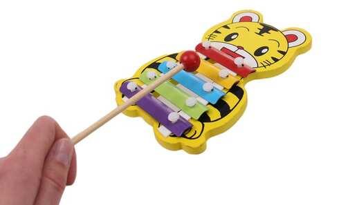 obrázek Dřevěný xylofon tygr