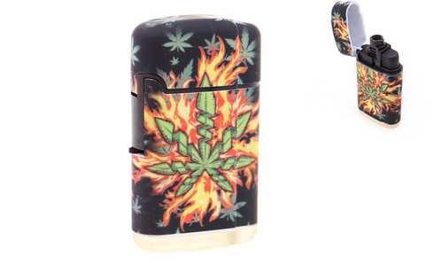 obrázek Tryskový zapalovač marihuana vzor1