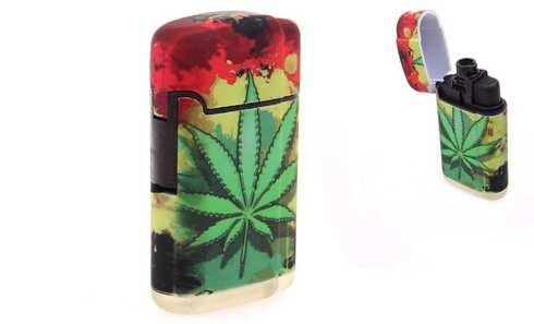obrázek Tryskový zapalovač marihuana vzor2
