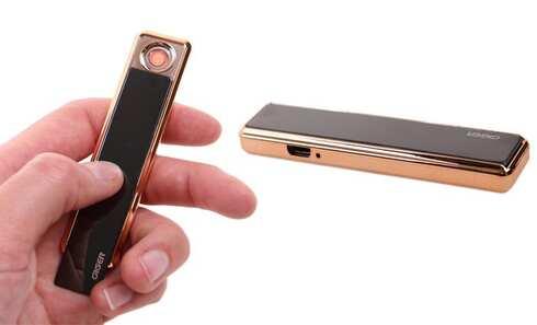 obrázok USB zapaľovač čierny
