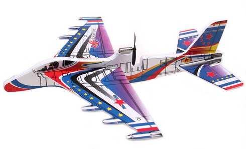 obrázok Lietajúci penové lietadlo na USB vzor 1
