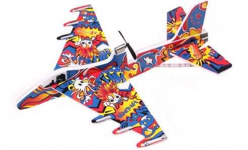 obrázok Lietajúci penové lietadlo na USB vzor 2