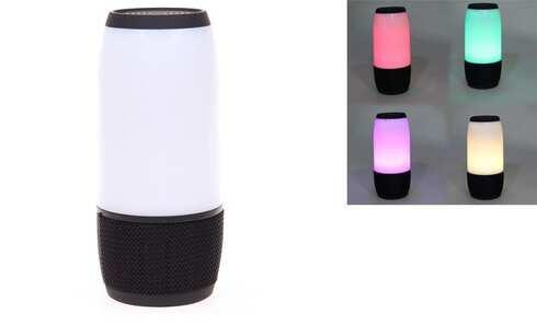 obrázek LED bluetooth reproduktor černý
