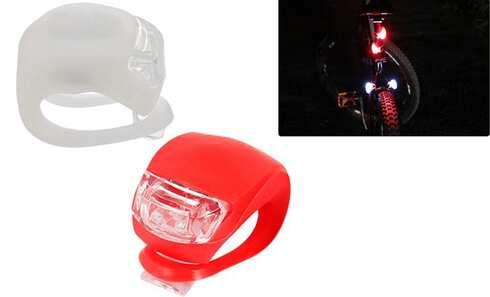 obrázok Sada 2 LED svetiel na bicykel
