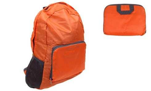 obrázek Skládací cestovní batoh oranžový