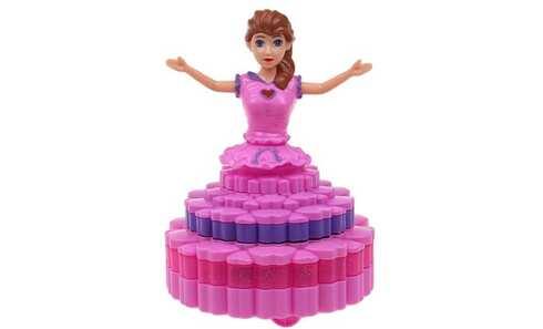 obrázok Tancujúci princezná bruneta