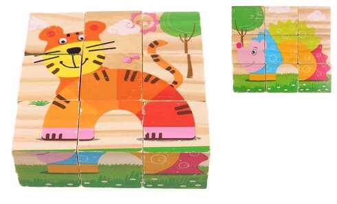 obrázek Dětské kostky zvířátka vzor 1