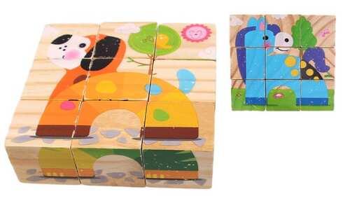 obrázok Detské kocky zvieratka vzor 3