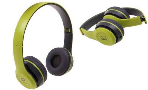 obrázok Hudobná slúchadlá P8047 zelená