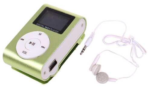 obrázek Mini MP3 přehrávač s displejem zelený